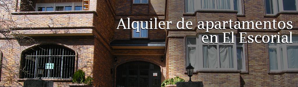 Alquiler de apartamentos en El Escorial